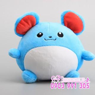[Có sẵn kèm quà] Gấu bông Pokemon Chuột Điện Marill quà tặng ý nghĩa cho bé trai gái sưu tập