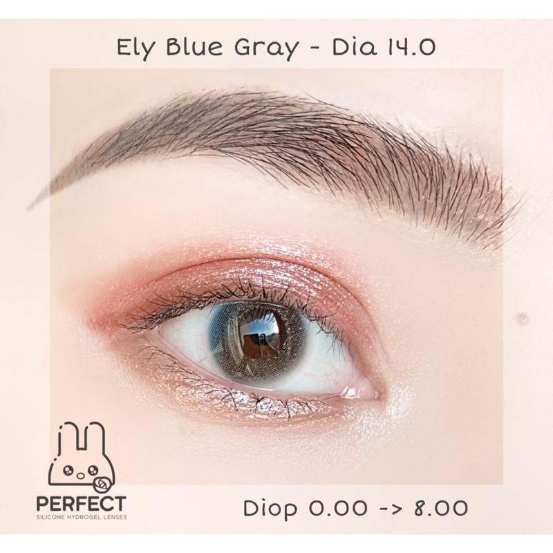 LINK 2 (GIÁ 1 CHIẾC) 14.0 (0.00->8.00) Lens Ely Blue Gray – Kính Áp Tròng