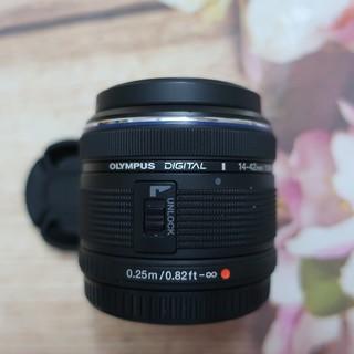 Ống kính Olympus M zuiko 14-42 f3.5-5.6 II R ngàm M43 cho các dòng máy ảnh Olympus và Pana thumbnail