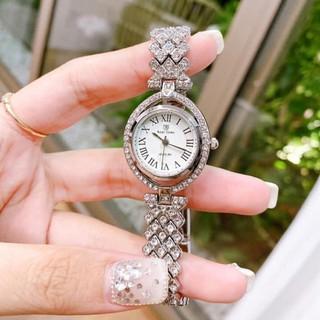 Đồng hồ ROYAL CROWN nữ mặt xoay dây đính đá sáng MTP-STORE MTP-STORE thumbnail