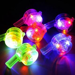 Còi thổi bằng đèn LED nhiều màu sắc thumbnail
