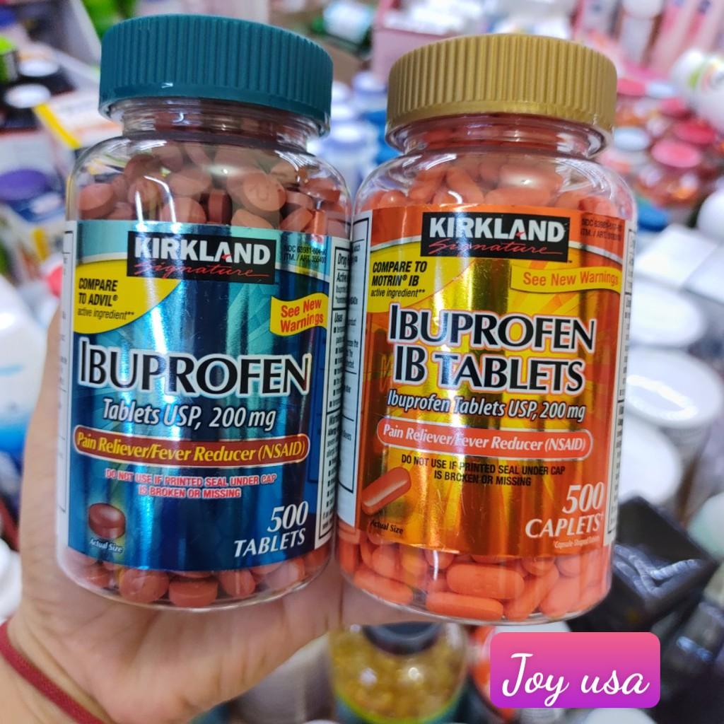 Ibuprofen Tablets 200mg Kirkland ( C/500 viên)
