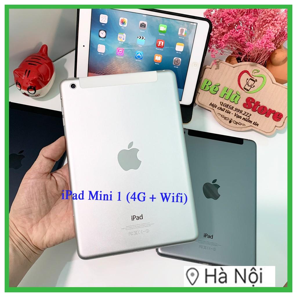 Máy Tính Bảng iPad Mini - 16Gb (Wifi+4G) Quốc tế - Zin Đẹp 99%