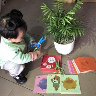 Bộ tạo hình cắt giấy sáng tạo cho bé