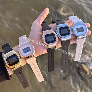Đồng hồ nam, nữ VUÔNG unisex dây nhựa kiểu dáng năng động cho tuổi teen siêu chất