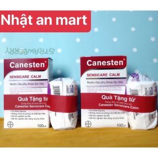 Dung dịch vệ sinh phụ nữ Canesten Sensicare Calm 100ml+ tặng băng vệ sinh Diana Sensi tiện lợi thumbnail