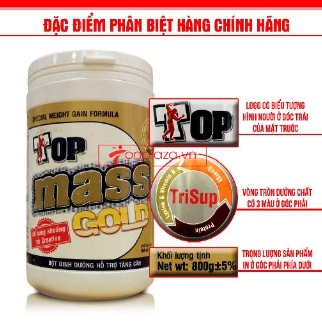 Sữa bột tăng cân Top mass gold