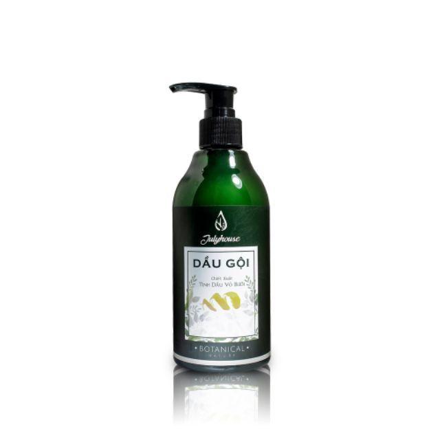 Dầu gội dưỡng tóc sạch gàu tinh dầu vỏ bưởi JULYHOUSE 300ml