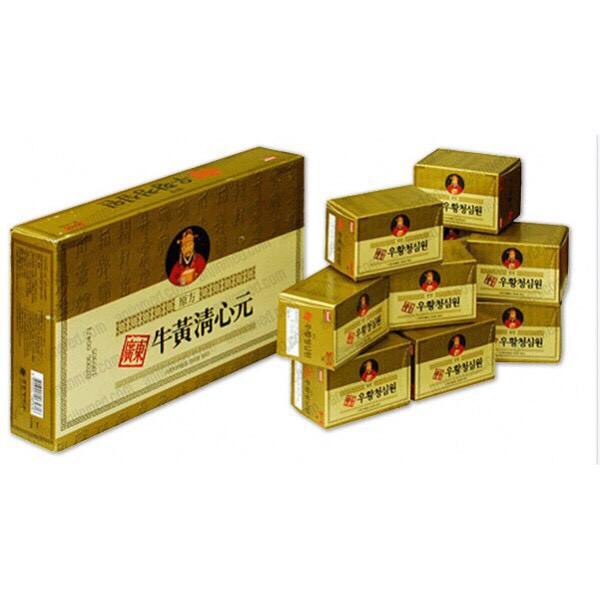 An Cung Ngưu Hoàng Hoàn HÀN QUỐC Hộp Vàng 10 Viên
