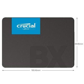 Ổ cứng SSD Crucial BX500 3D NAND SATA III 2.5 inch 240GB R540MB s W500GB s (Xanh) thumbnail