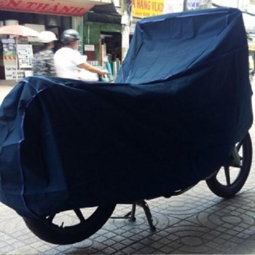 Áo trùm xe máy chống nắng mưa - siêu dày