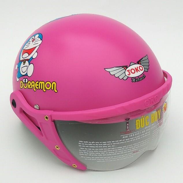 Mũ bảo hiểm trẻ em ĐỨC HUY 008K Kính JOKO cho bé từ 3-6 tuổi (nhiều màu)
