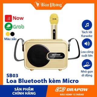 Loa Bluetooth Drapow SB03 kèm Micro