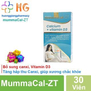 MummaCal-ZT - Bổ sung Canxi, Vitamin D3, tăng hấp thu Canxi, giúp xương chắc khỏe (Hộp 30 Viên) thumbnail