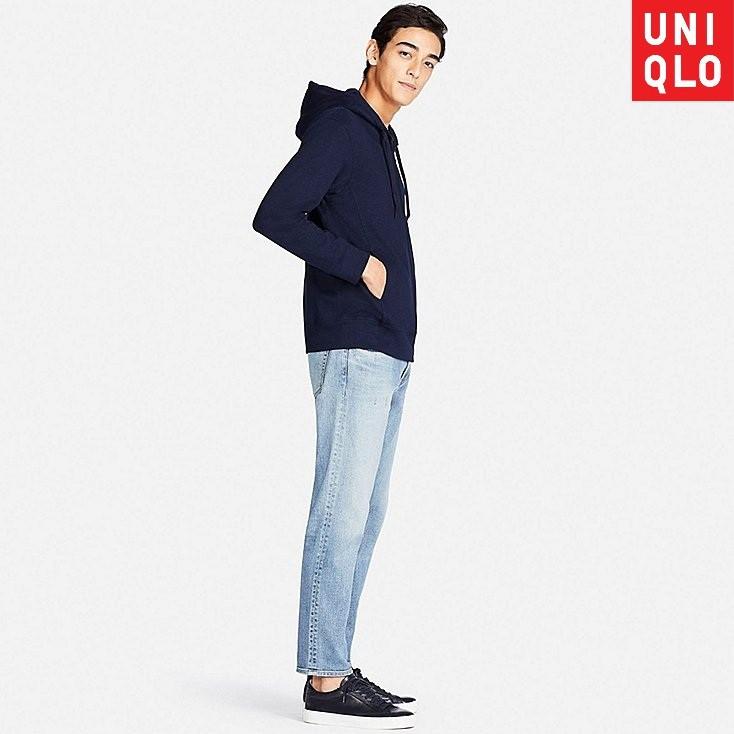 Áo khoác nam Uniqlo AIRism Full-Zip Hoodie - Chống nắng/tia UV (AIRism18)
