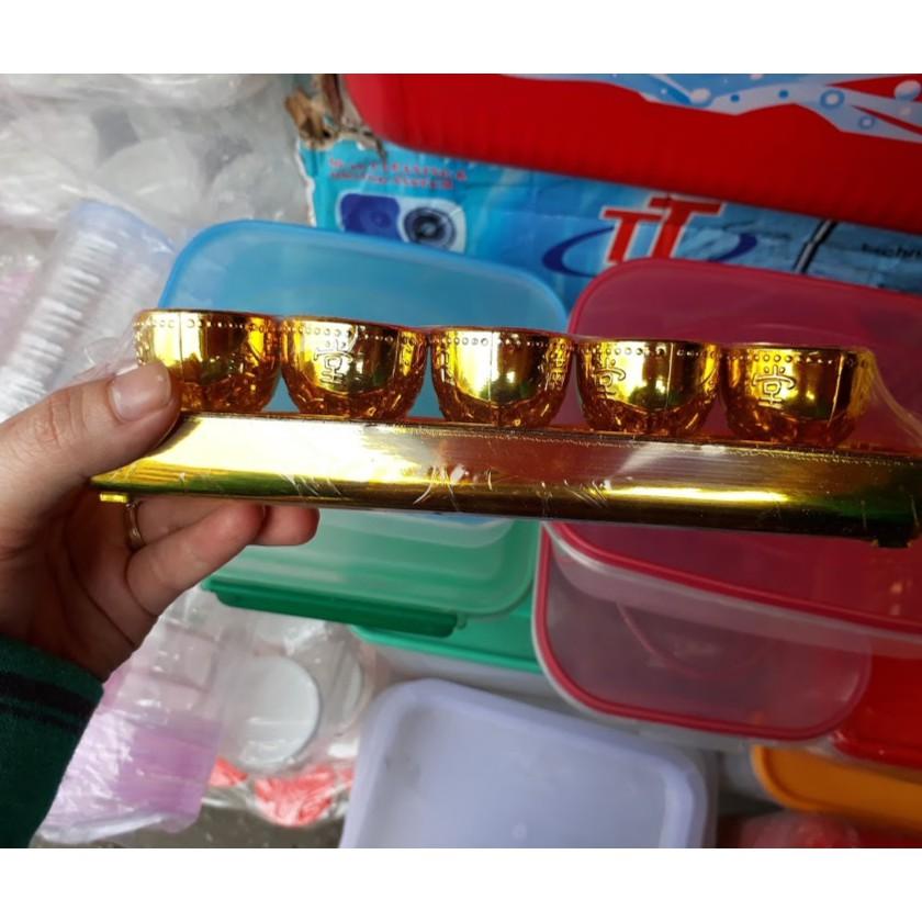 Set 5 chum đựng nước để bàn thờ
