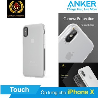 Ốp Lưng Cao Cấp ANKER Karapax Touch Dùng Cho IPhone X