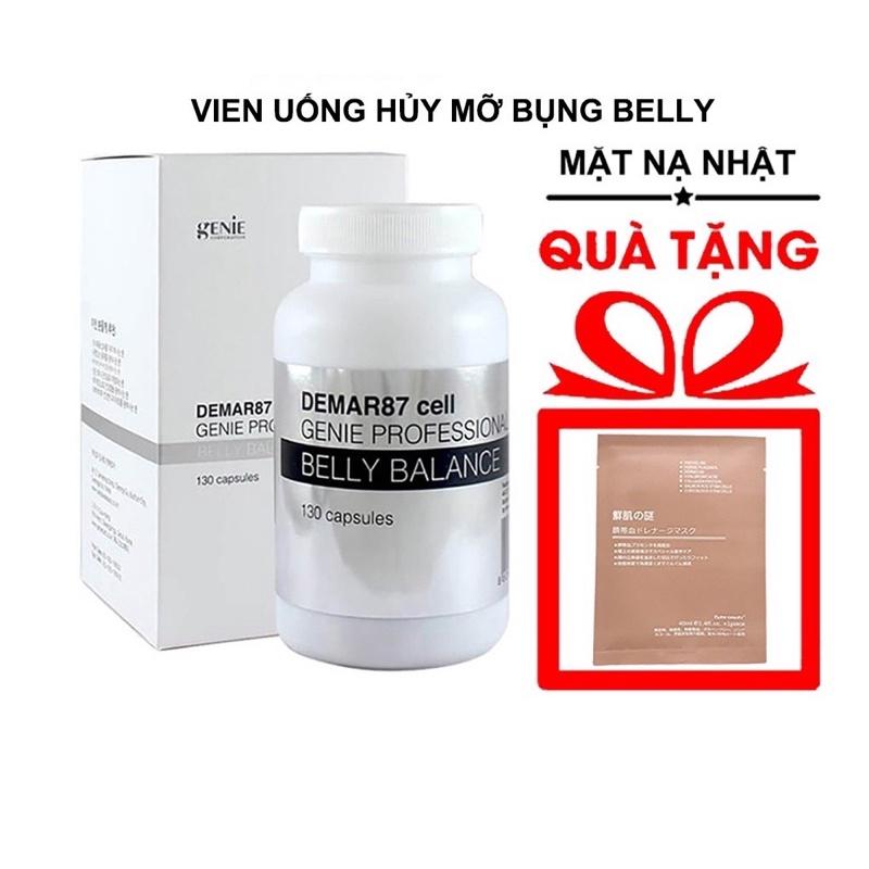 [HCM][Sale] Viên Uốn Huỷ Mỡ Bụng Belly Genie Mẫu Mới [Hot] - 65V Uống 21 Ngày
