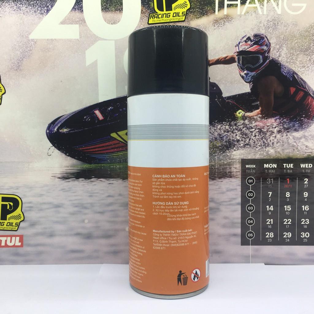 Phục hồi nhựa nhám, dưỡng đen nhựa nhám SprayKing 400ml
