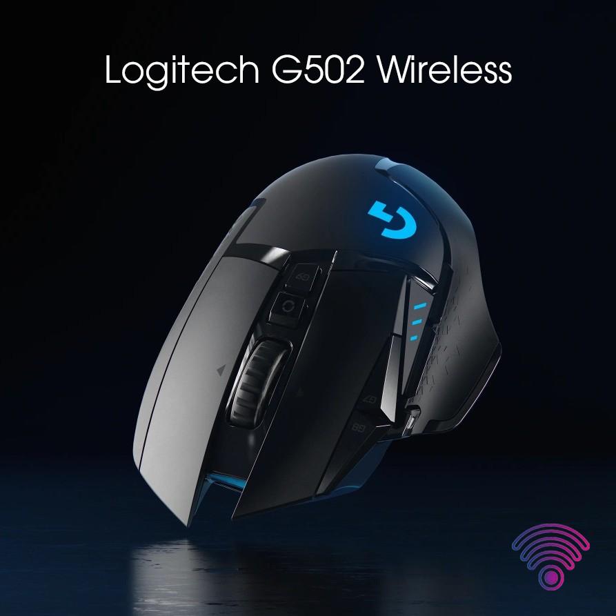 Chuột Logitech G502 Hero Lightspeed Wireless new seal bảo hành