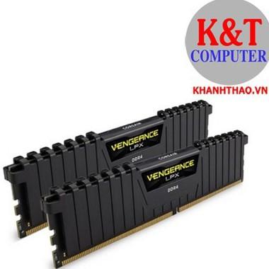 Ram máy tính DDR4 Corsair 8GB-Bus 2666 CMK8X4M1A2666C16- TẢN NHIỆT