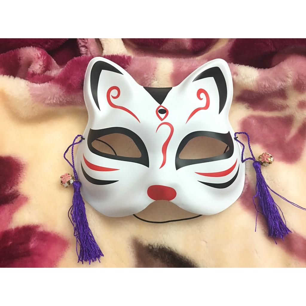 ( hàng sẵn )Mặt Nạ Vẽ Mèo siêu hot