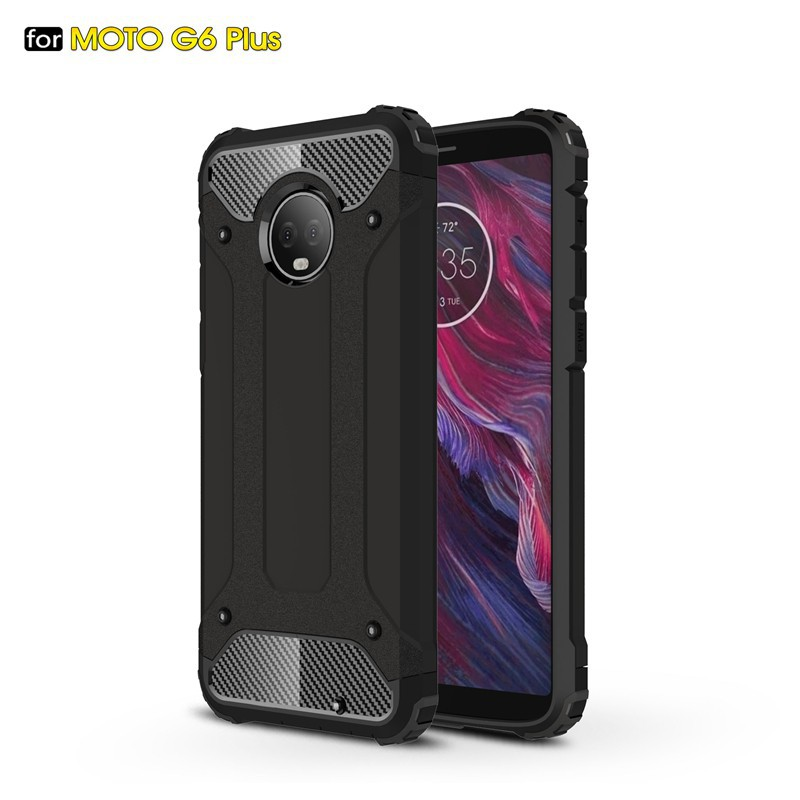 Silicone Protection Cover for Moto G5 Plus Hard PC Anti-Shock Phone case