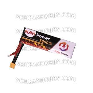 Pin Lipo dung lượng cao 2S 7.4v 5600mAh 50C (NAH)