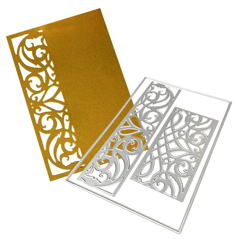 love*Hollow Lace Frame Metal Cutting Dies Stencil DIY Scrapbooking Paper Card Embossing Craft Decor