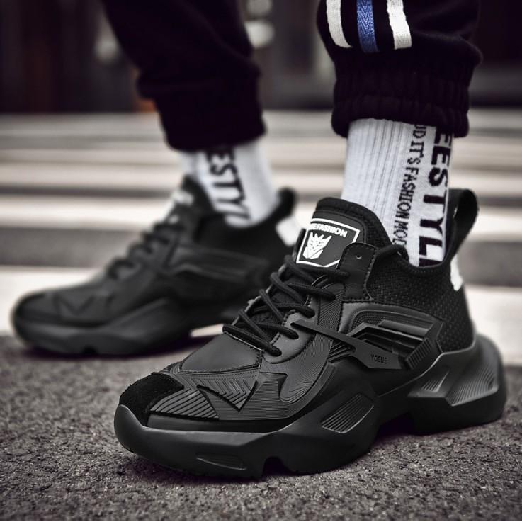 [Mã SKAMSALE10 giảm 10% đơn 200K] Giày thể thao sneaker nam D87, phong cách trẻ trung năng động, đế cao su non đi cực êm