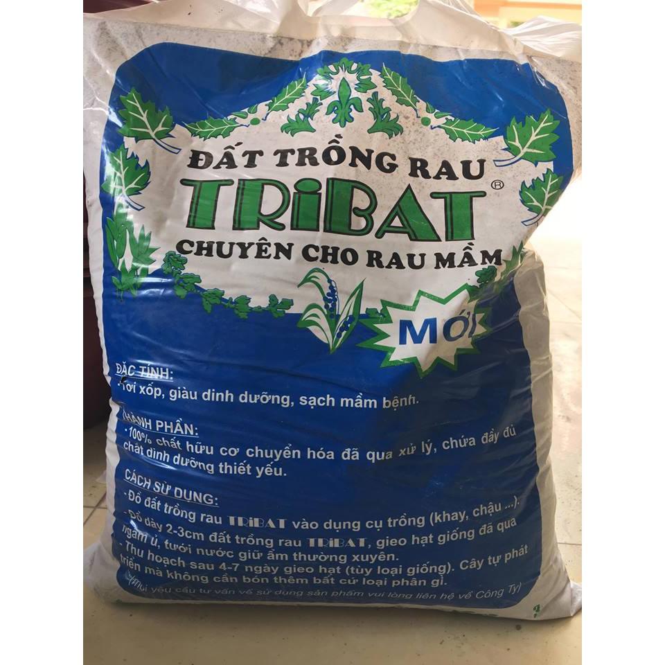 Combo 2 túi tribat rau mầm xanh