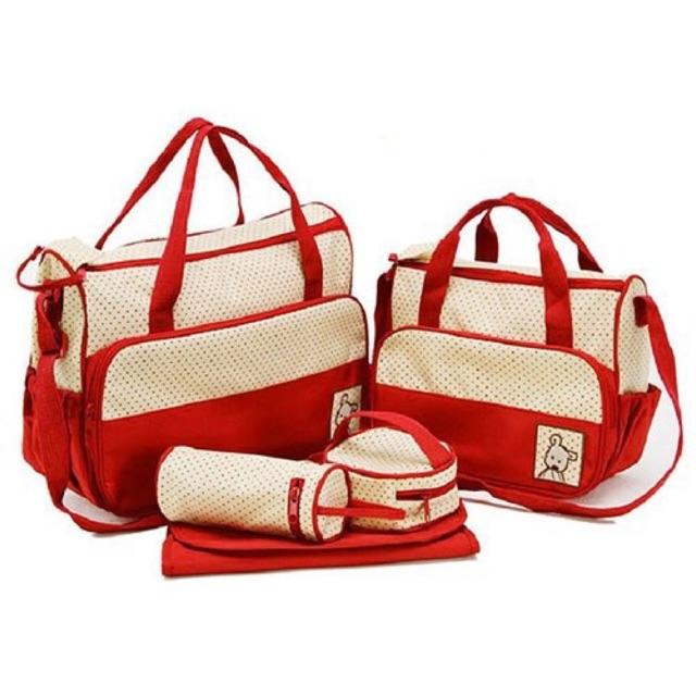 Túi đựng đồ cho mẹ và bé 5 chi tiết - 2698557 , 55248342 , 322_55248342 , 164000 , Tui-dung-do-cho-me-va-be-5-chi-tiet-322_55248342 , shopee.vn , Túi đựng đồ cho mẹ và bé 5 chi tiết