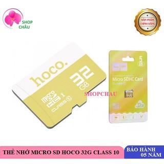 Thẻ Nhớ Micro SD Hoco 32G 90MB/s Class 10 Chính Hãng