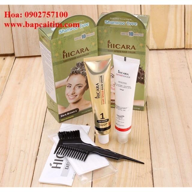 Thuốc nhuộm tóc phủ bạc thảo dược Hicara - 21563527 , 739760632 , 322_739760632 , 170000 , Thuoc-nhuom-toc-phu-bac-thao-duoc-Hicara-322_739760632 , shopee.vn , Thuốc nhuộm tóc phủ bạc thảo dược Hicara