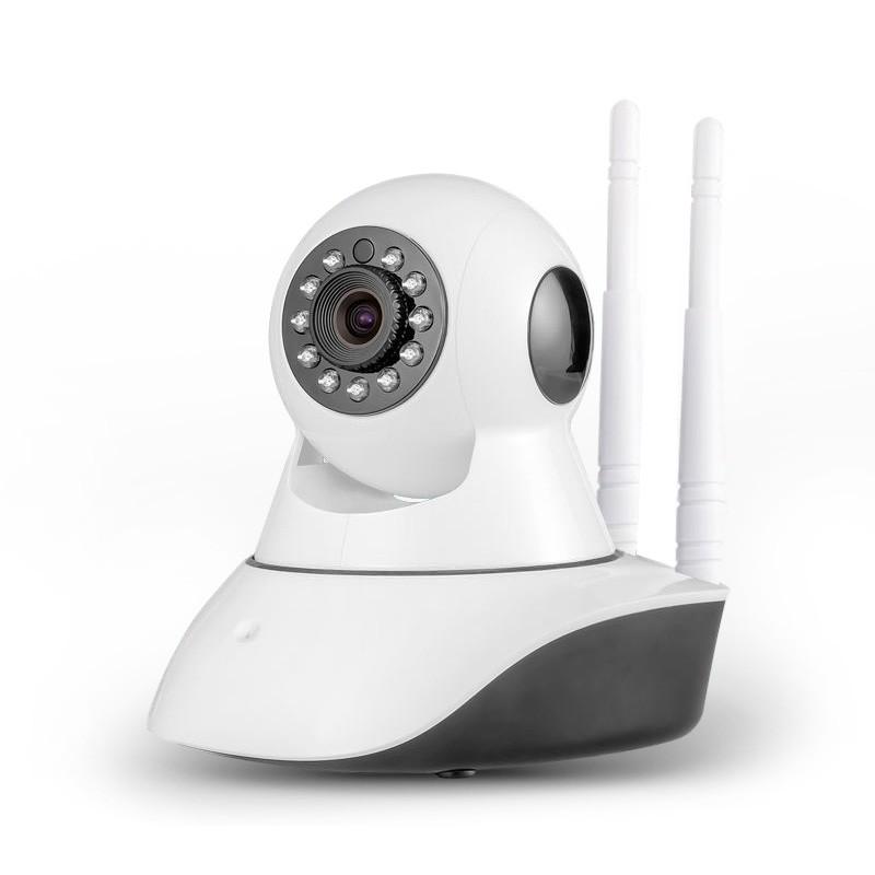 Camera HD Wireless IP X8100 quan sát và báo động - xoay 360 độ