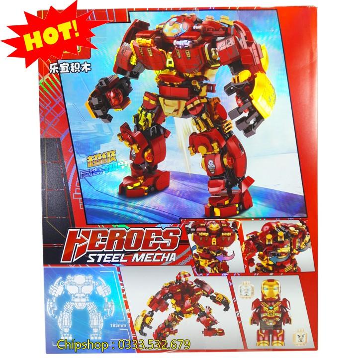 Bộ Lego Lắp Ghép Ninjago Robot Iron Man No.76015. Gồm 650 Chi Tiết. Lego Ninjago Lắp Ráp Đồ Chơi Cho Bé
