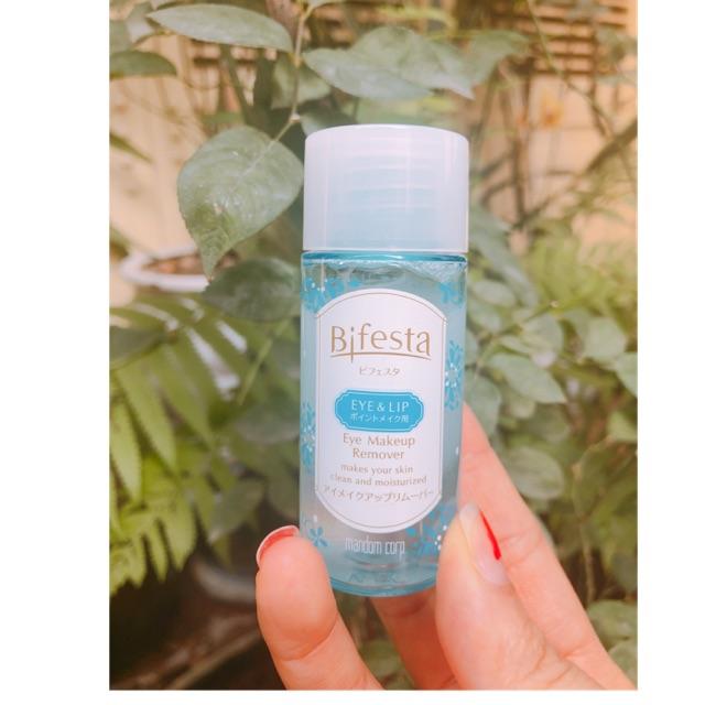 Chai tẩy trang mắt môi Bifesta mini