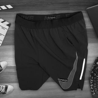 Quần thể thao nam cao cấp – quần tập gym nam Naiky chất liệu gió cực mát