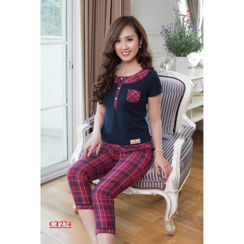 Đồ bộ mặc nhà 3T MYSELF HOME - Bộ áo cotton quần thô dài CT274 - 2939029 , 1032554998 , 322_1032554998 , 375000 , Do-bo-mac-nha-3T-MYSELF-HOME-Bo-ao-cotton-quan-tho-dai-CT274-322_1032554998 , shopee.vn , Đồ bộ mặc nhà 3T MYSELF HOME - Bộ áo cotton quần thô dài CT274