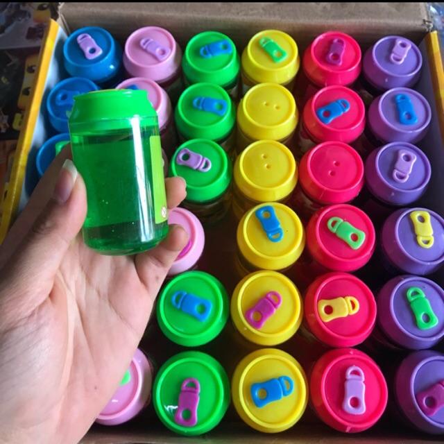 36 lọ slam sắc màu hình chai nước hoa quả