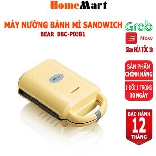 Máy nướng bánh mì Sandwich Waffle Bear DBC-P05B1 (Hàng chính hãng 1 đổi 1 trong 30 ngày, bảo hành 12 tháng) HomeMart thumbnail