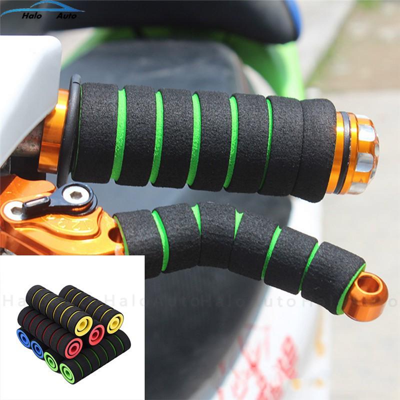 Bộ 4 miếng đệm tay lái mô tô / xe máy hàng chất lượng cao