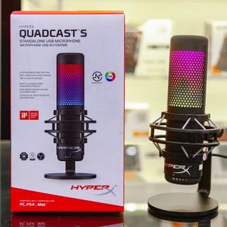 [ GIÁ SỐC ] – [ HOT ] – [ RẺ VÔ ĐỊCH ] – Micro HyperX QuadCast S RGB – Chính Hãng Việt Nam – Mới 100%