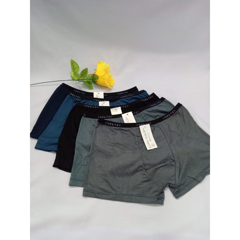 Combo 4 quần sịp đùi nam xuất Nhật-Hàng loại 1