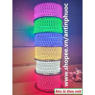 Đèn led dây đôi 2835 – 220v trang trí – Dây led màu đỏ, trắng,vàng,xanh,hồng đủ màu siêu sáng quấn cây , ốp tường