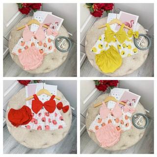 Set 3 chi tiết vải đũi mềm mịn