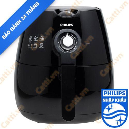 [ELHACOIN02 giảm tối đa 300K xu] [PHILIPS] Nồi chiên không dầu Philips HD9220