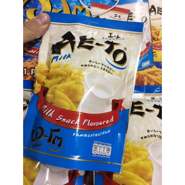 | 3 Snack Tăm Thái |Bim Tăm AeTo vị Sữa 25g