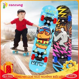 Ván trượt thể thao, ván trượt Yoyo999 gỗ ép cao cấp dành cho trẻ từ 2 đến 6 tuổi ( Tặng kèm thước đo chiều cao ) thumbnail