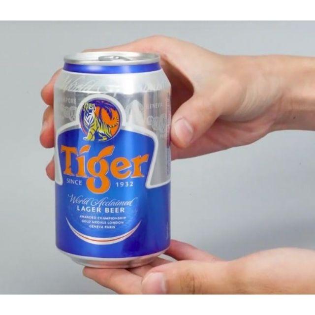 Lon bia Tiger 330ml